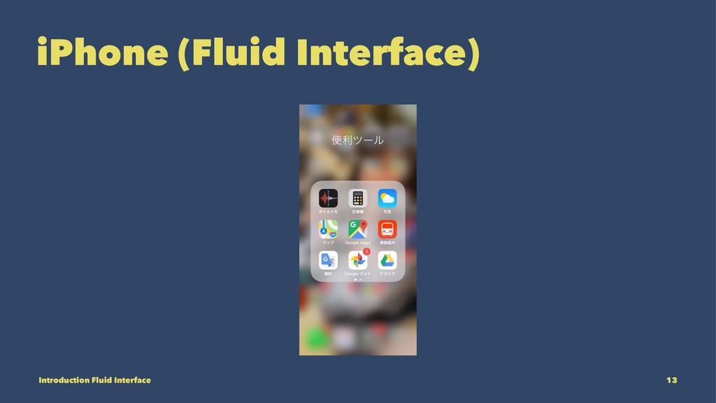 iPhone (Fluid Interface) Introduction Fluid Int...
