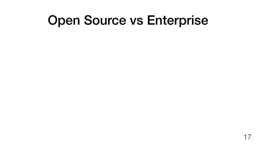Open Source vs Enterprise   Is Drone Enterprise...