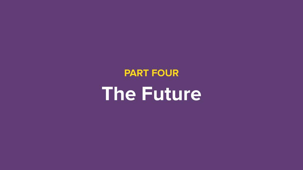 PART FOUR The Future
