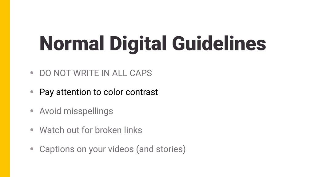 Normal Digital Guidelines • DO NOT WRITE IN ALL...