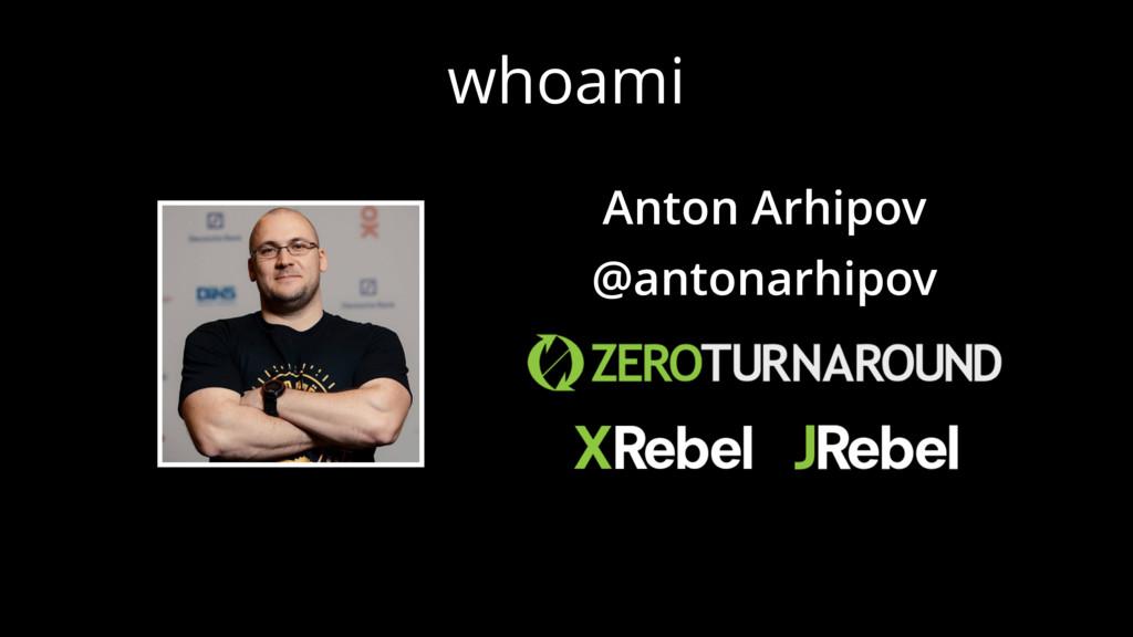 whoami Anton Arhipov @antonarhipov