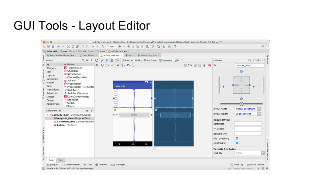 GUI Tools - Layout Editor