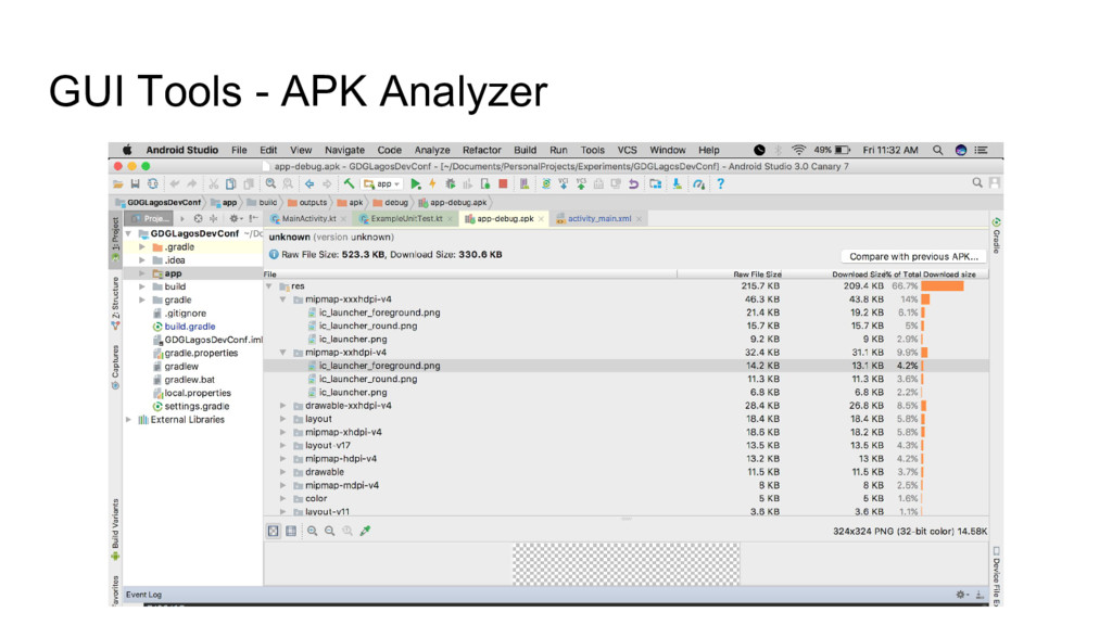 GUI Tools - APK Analyzer