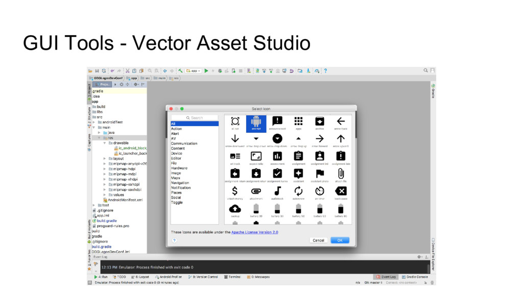 GUI Tools - Vector Asset Studio