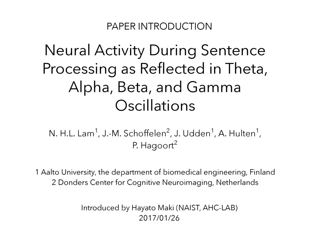Neural Activity During Sentence Processing as R...