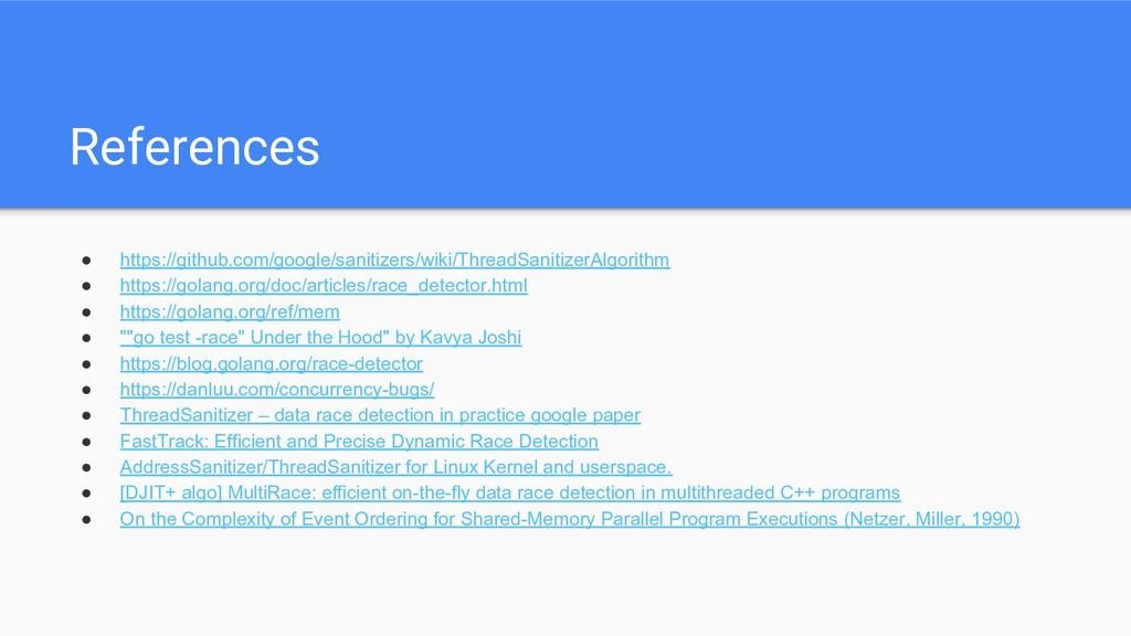 References ● https://github.com/google/sanitize...
