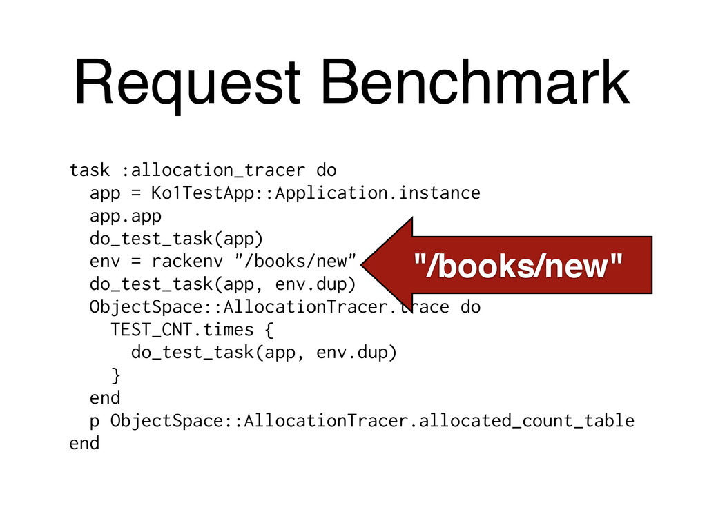 Request Benchmark task :allocation_tracer do ap...
