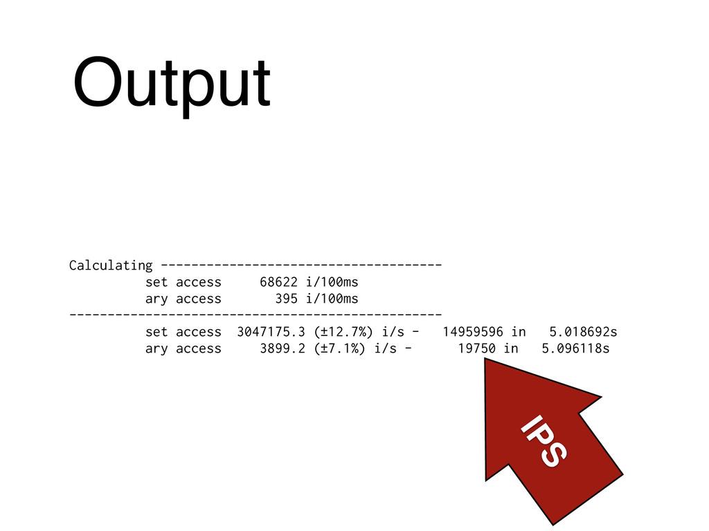 Output Calculating ----------------------------...