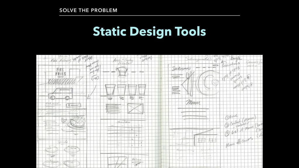 Static Design Tools SOLVE THE PROBLEM