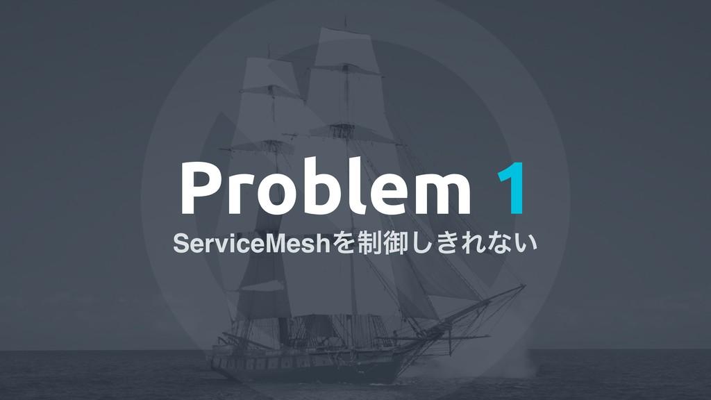 Problem 1 ServiceMeshΛ੍ޚ͖͠Εͳ͍