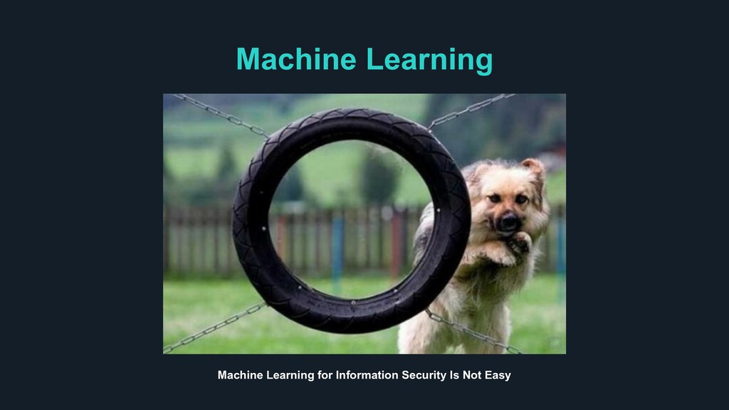 Machine Learning Machine Learning for Informati...