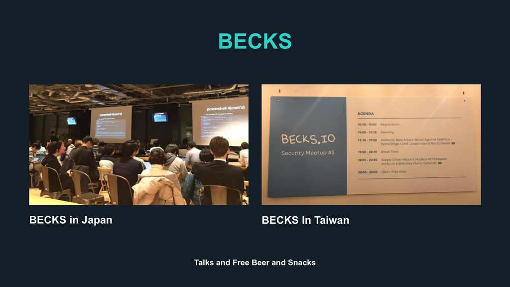 BECKS BECKS In Taiwan BECKS in Japan Talks and ...