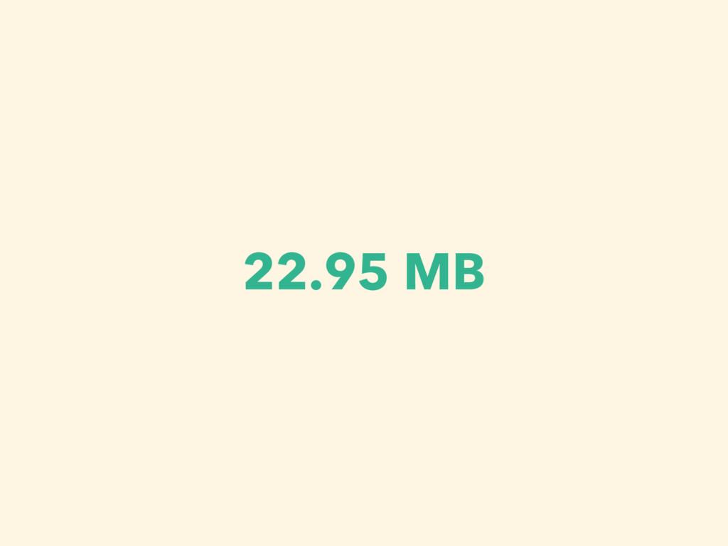 22.95 MB
