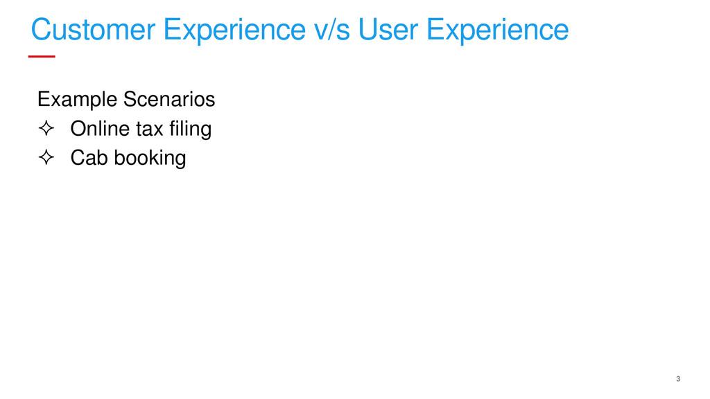 3 Customer Experience v/s User Experience Examp...