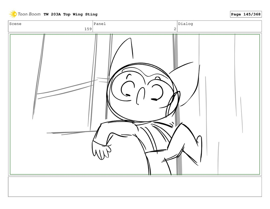 Scene 159 Panel 2 Dialog TW 203A Top Wing Sting...