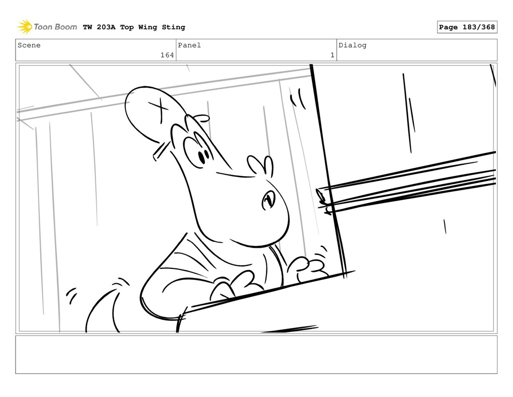 Scene 164 Panel 1 Dialog TW 203A Top Wing Sting...