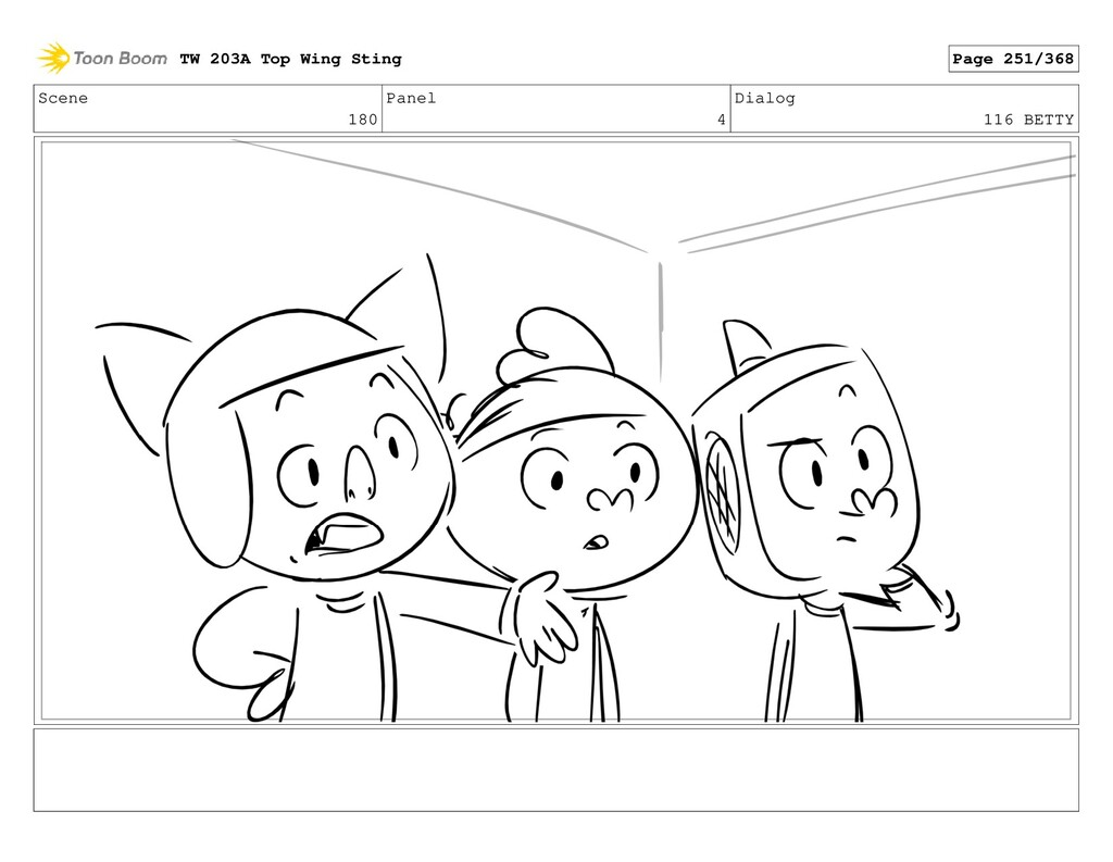 Scene 180 Panel 4 Dialog 116 BETTY TW 203A Top ...
