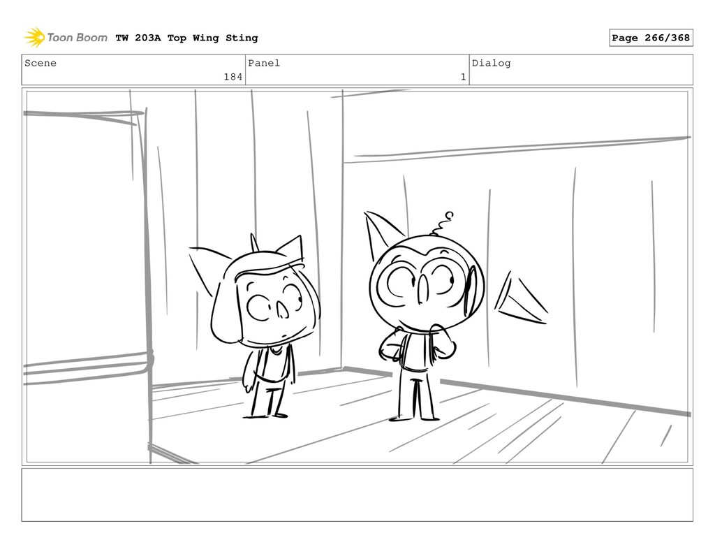 Scene 184 Panel 1 Dialog TW 203A Top Wing Sting...