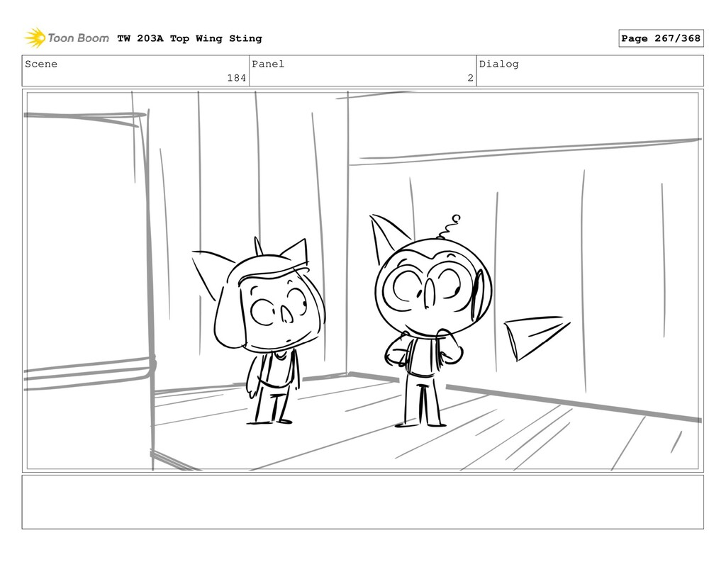 Scene 184 Panel 2 Dialog TW 203A Top Wing Sting...