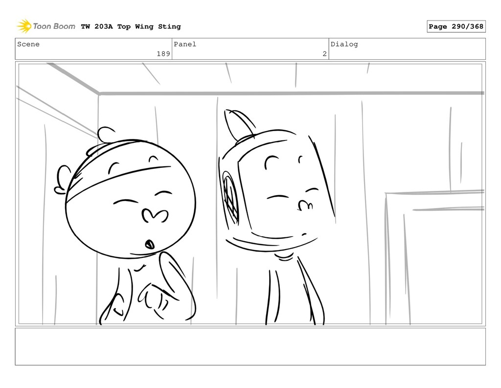Scene 189 Panel 2 Dialog TW 203A Top Wing Sting...