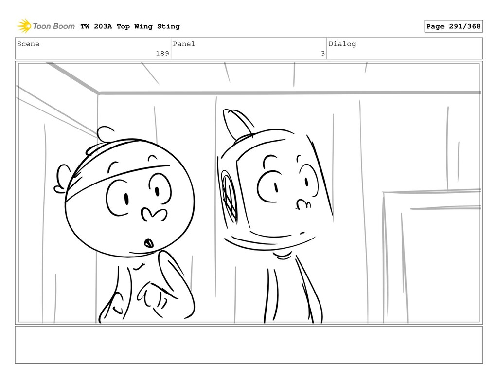 Scene 189 Panel 3 Dialog TW 203A Top Wing Sting...