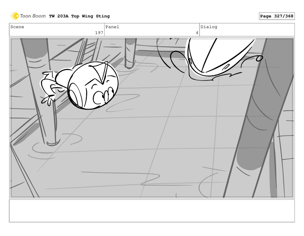 Scene 197 Panel 4 Dialog TW 203A Top Wing Sting...