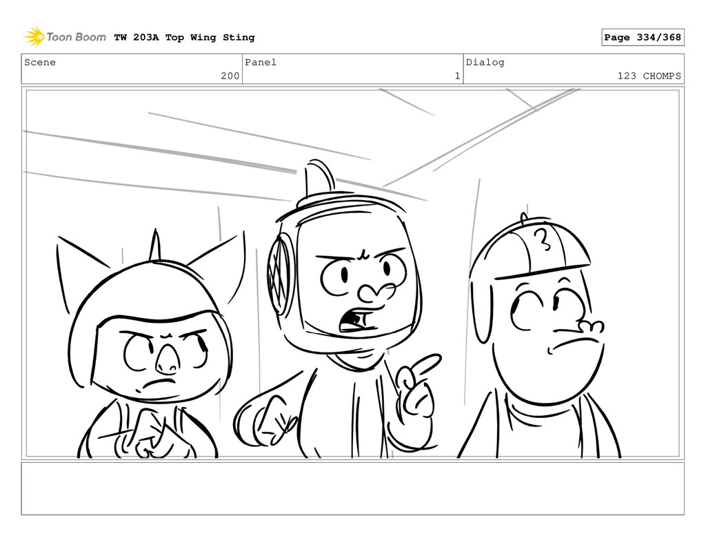 Scene 200 Panel 1 Dialog 123 CHOMPS TW 203A Top...