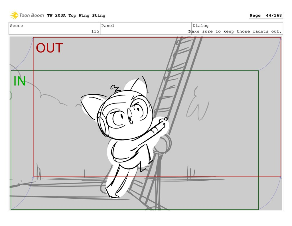 Scene 135 Panel 5 Dialog Make sure to keep thos...