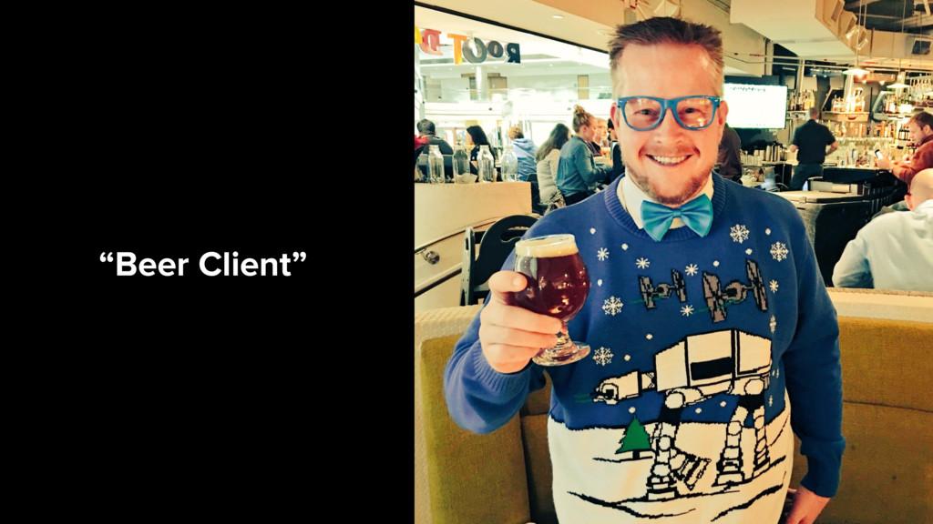 """""""Beer Client"""""""