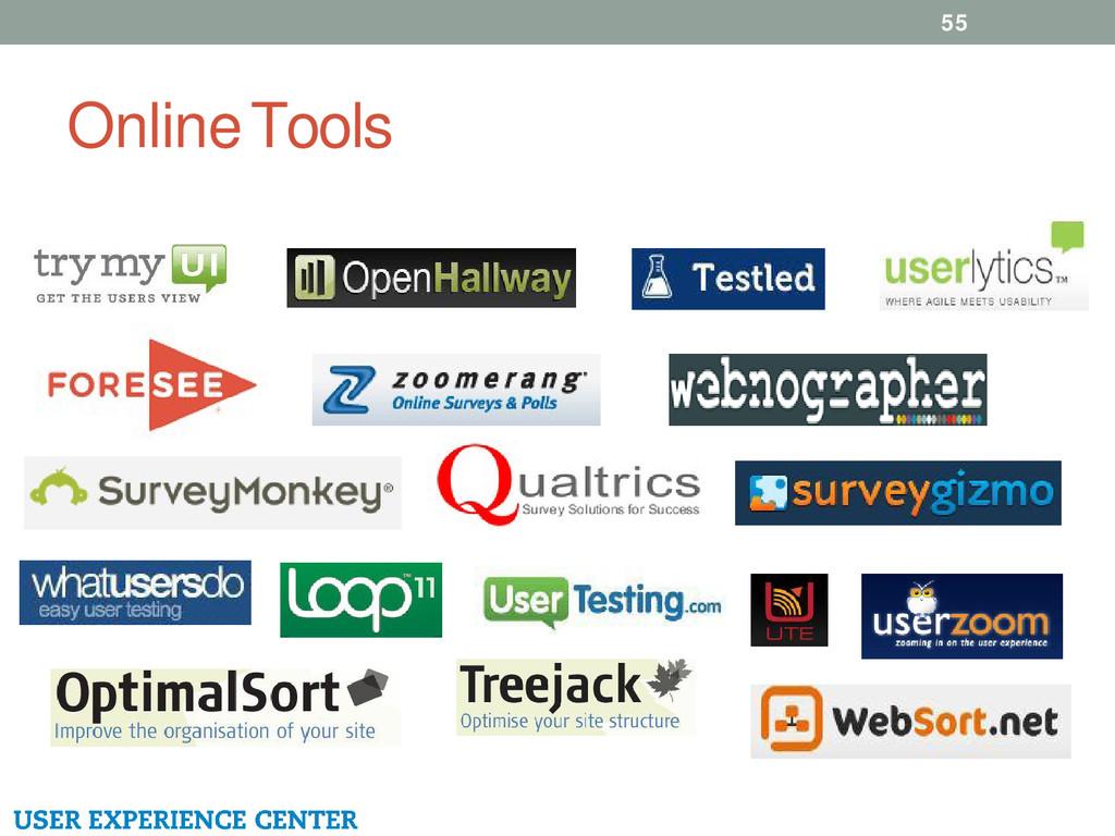 Online Tools 55