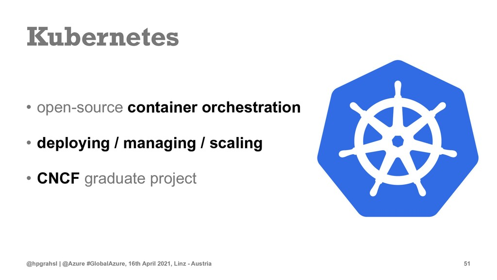 Kubernetes • open-source container orchestratio...