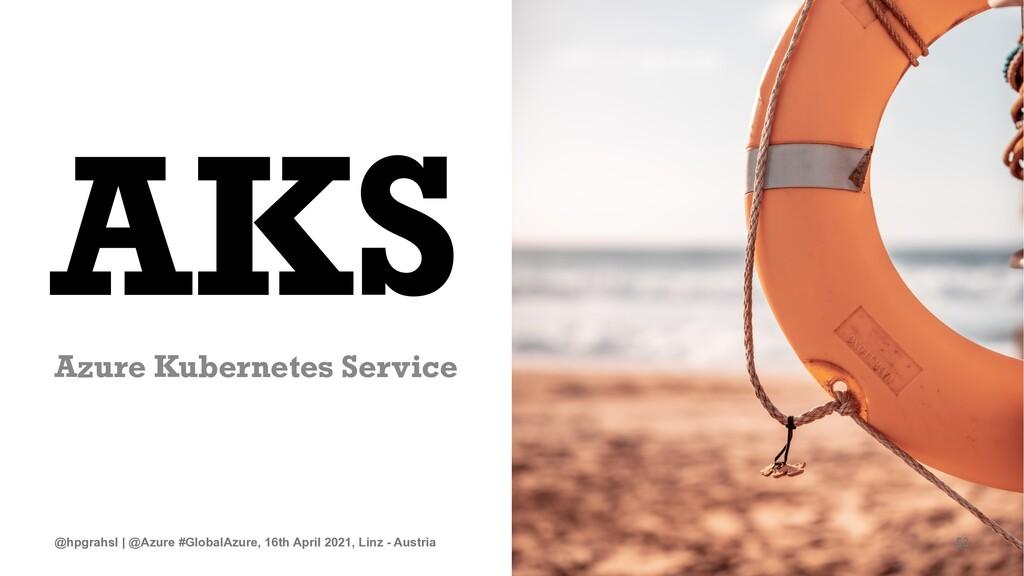 AKS Azure Kubernetes Service @hpgrahsl | @Azure...