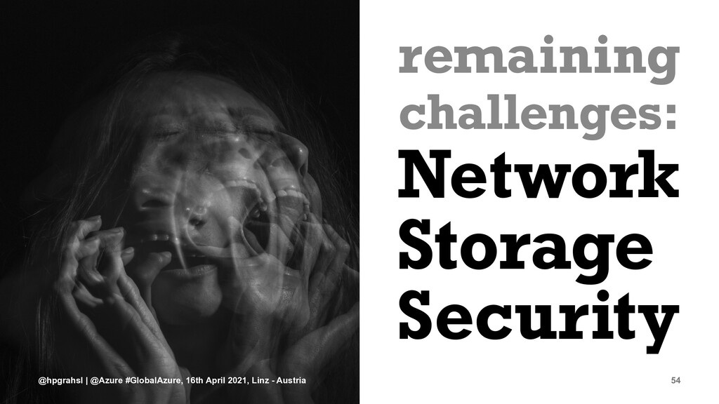remaining challenges: Network Storage Security ...