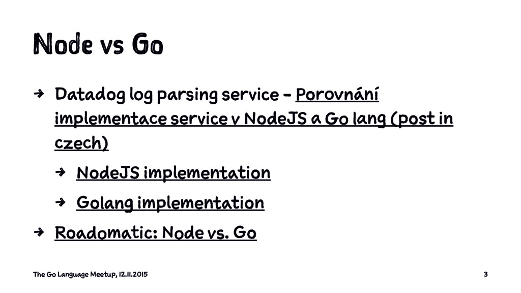 Node vs Go 4 Datadog log parsing service - Poro...