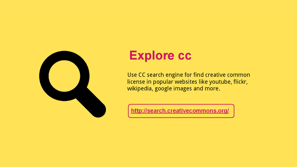 Use CC search engine for find creative common l...