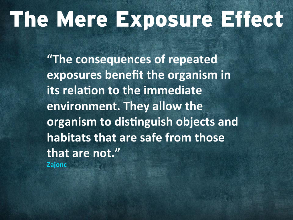 """""""The consequences of repeated  expo..."""