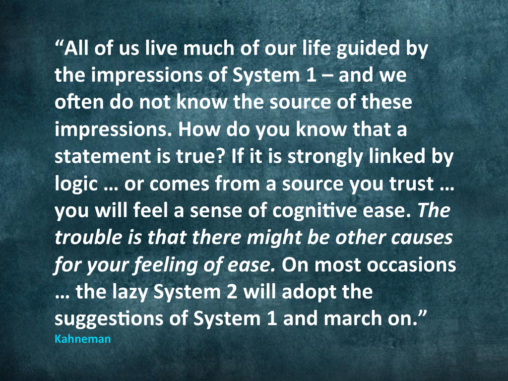 """""""All of us live much of our..."""