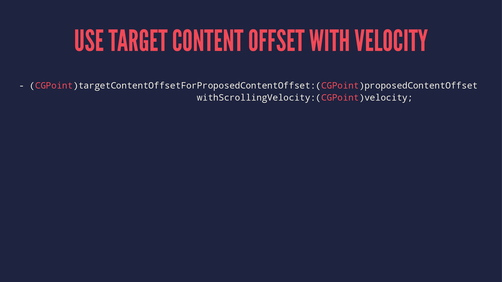 USE TARGET CONTENT OFFSET WITH VELOCITY - (CGPo...