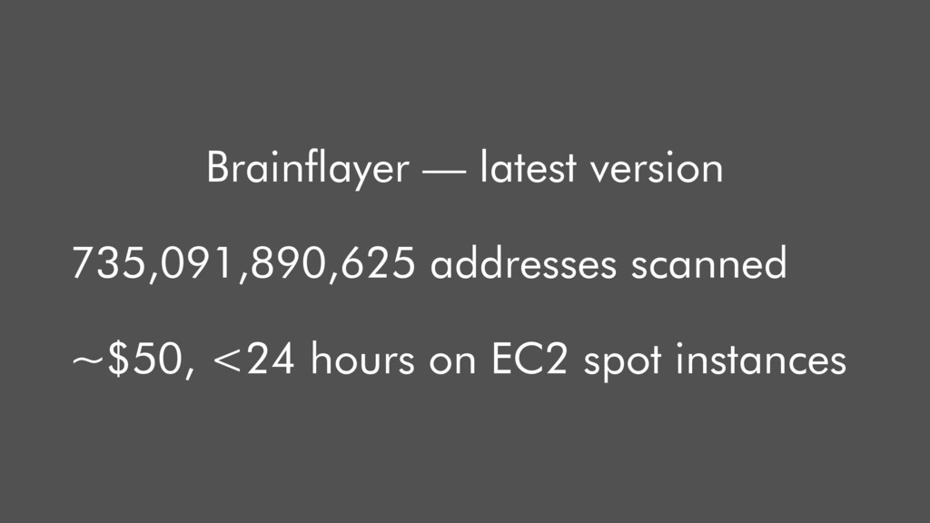 Brainflayer — latest version 735,091,890,625 ad...