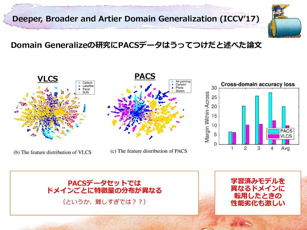 Deeper, Broader and Artier Domain Generalizatio...
