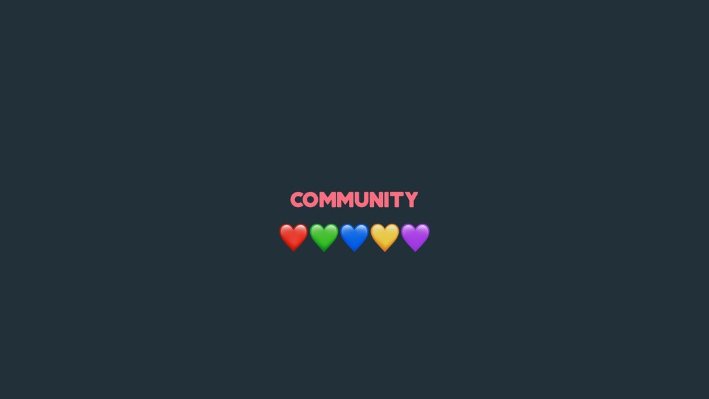 community ❤