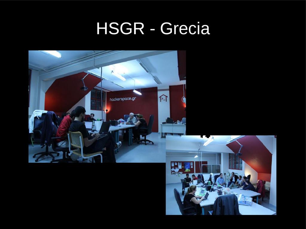 HSGR - Grecia