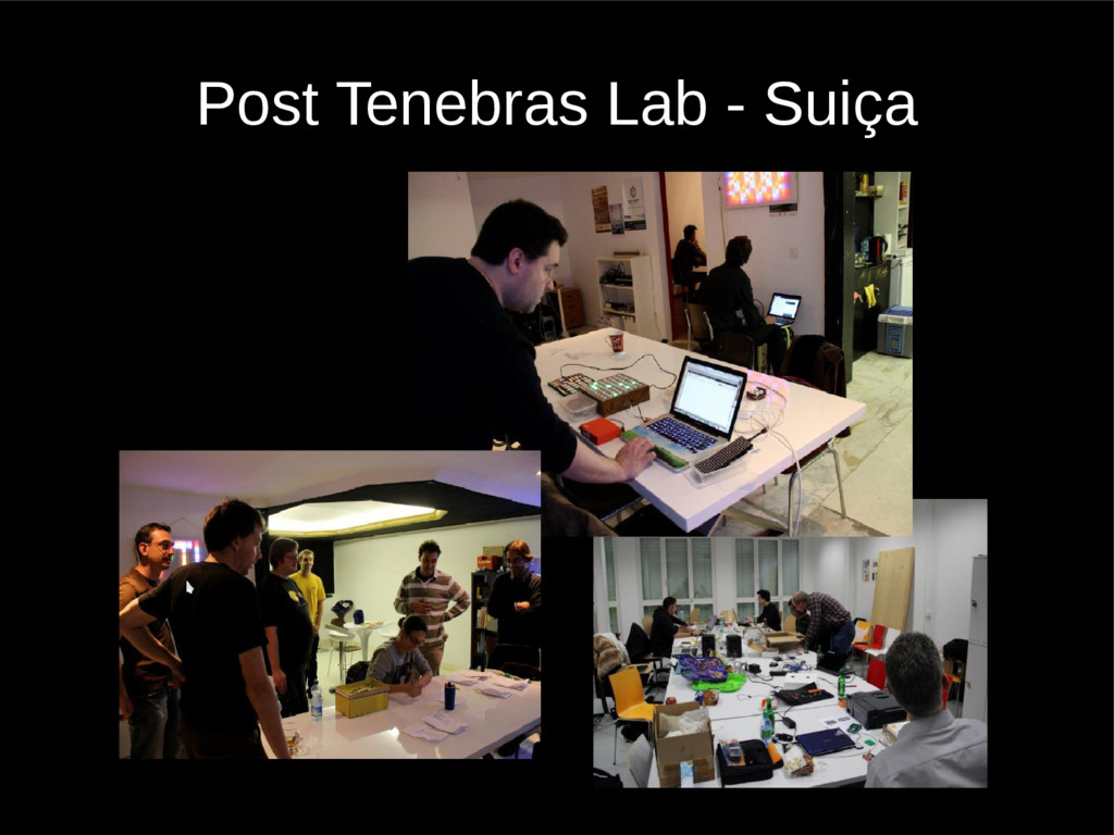 Post Tenebras Lab - Suiça