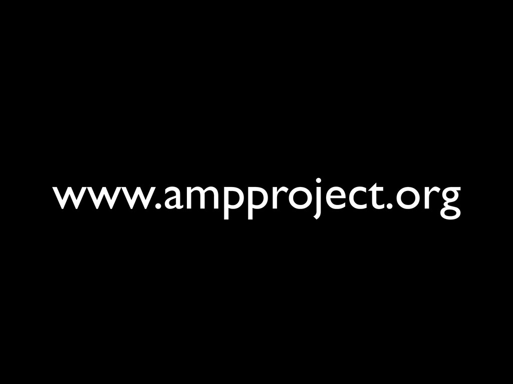 www.ampproject.org