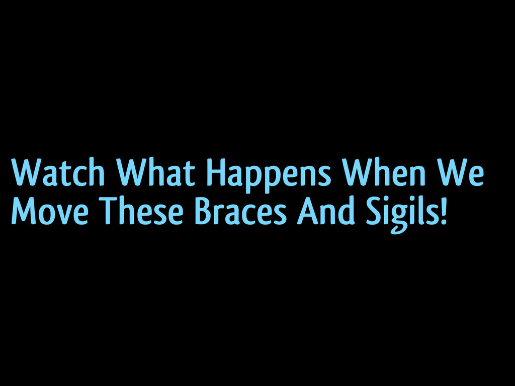 Watch What Happens When We Move These Braces An...