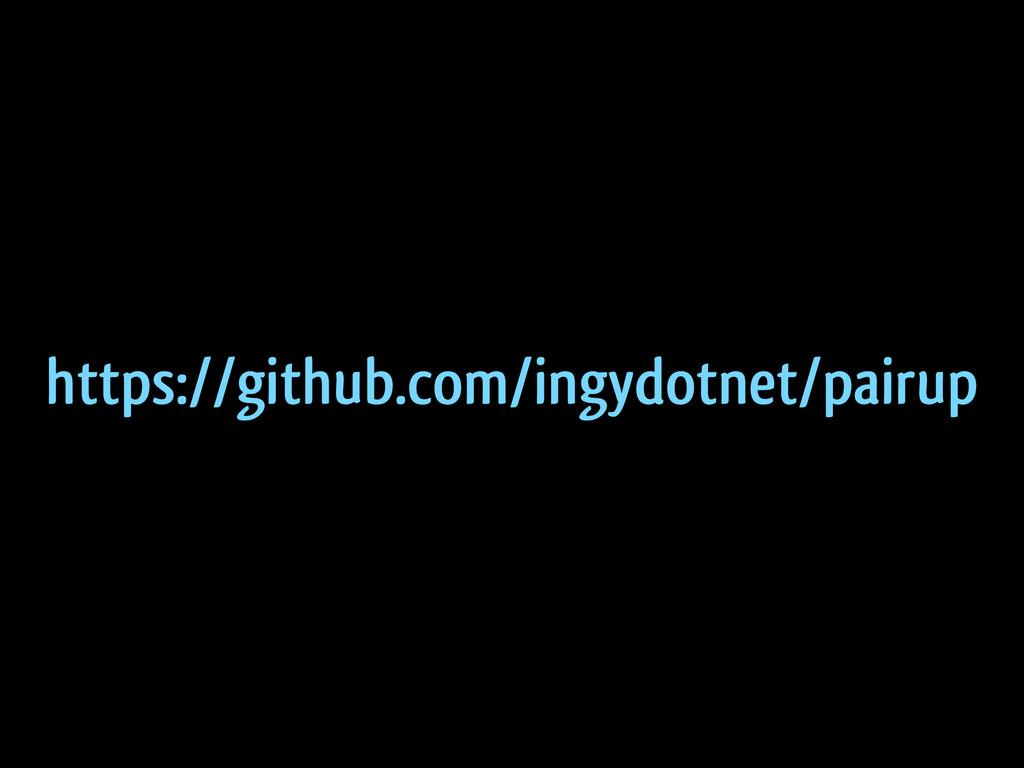 https://github.com/ingydotnet/pairup