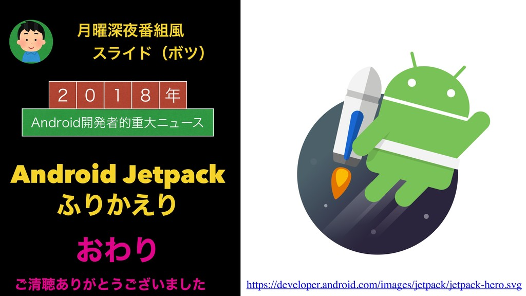 "̎ ""OESPJE։ൃऀతॏେχϡʔε ̌ ̍ ̔  Android Jetpack ;Γ͔..."