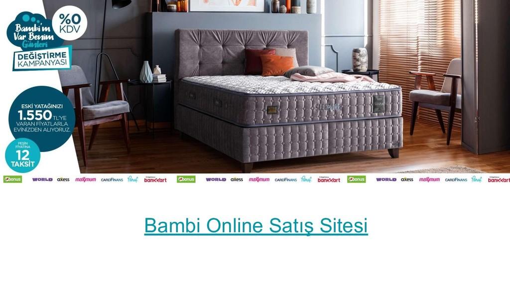 Bambi Online Satış Sitesi