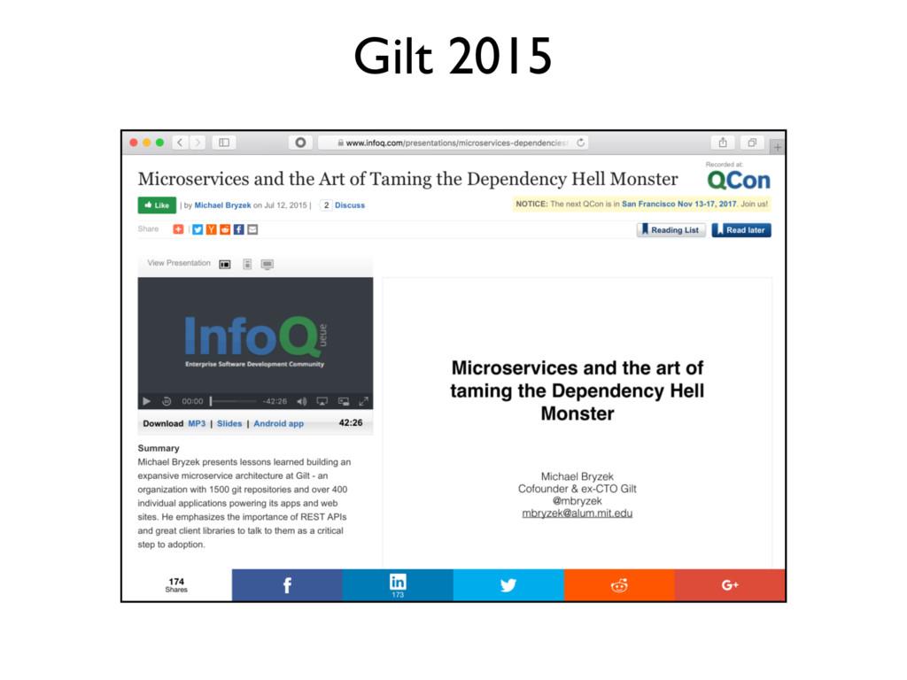 Gilt 2015