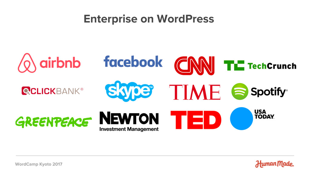Enterprise on WordPress